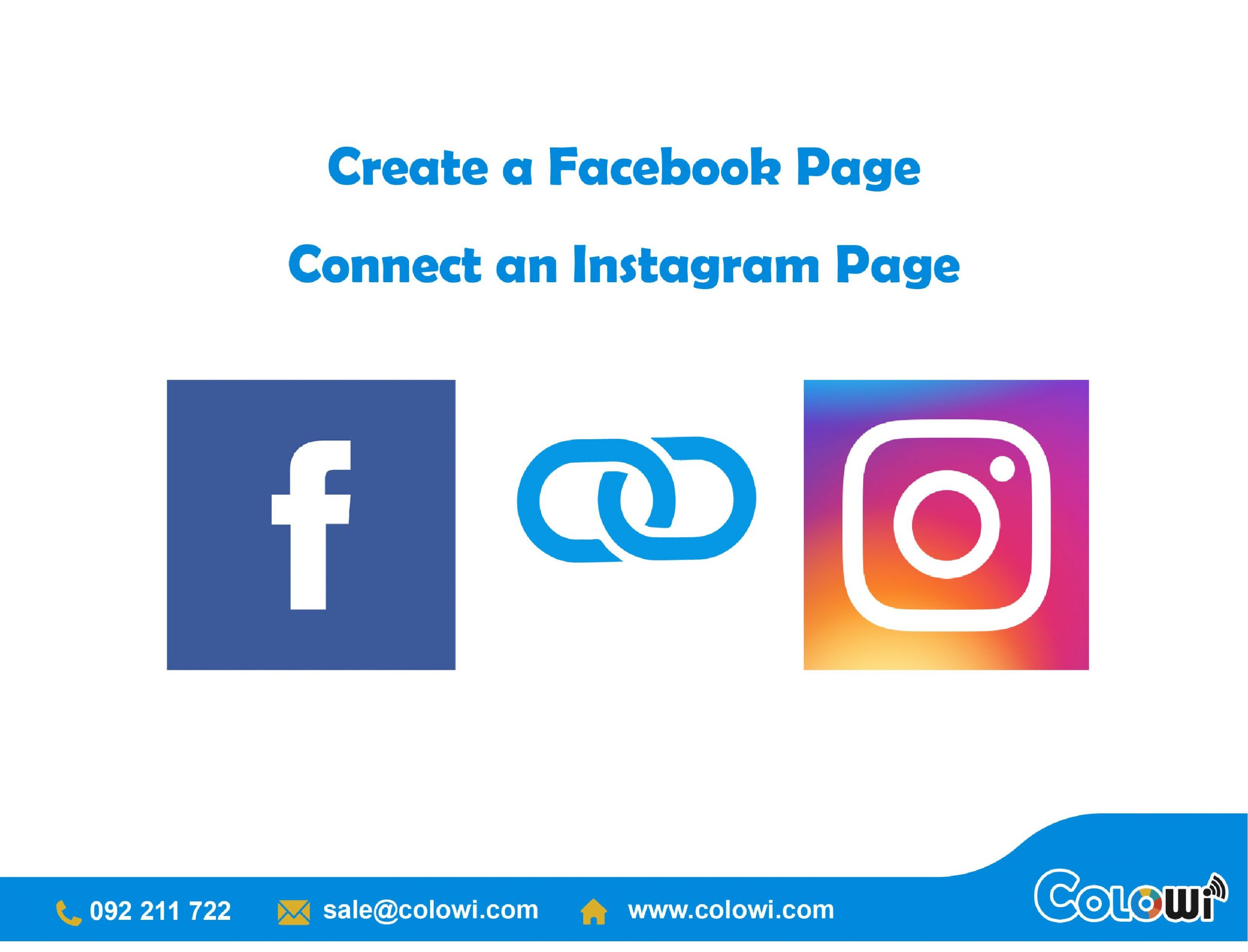 HOW TO CREATE A FACEBOOK PAGE WITH INSTAGRAM PAGE
