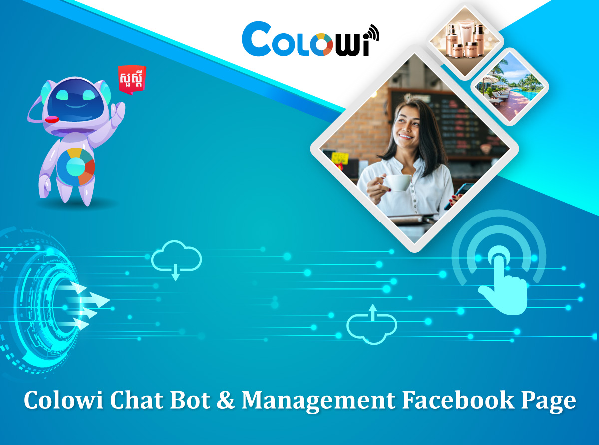 Colowi Chat Bot and Management Facebook Page